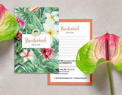 Brand Identity | Boulevard Deli & Café