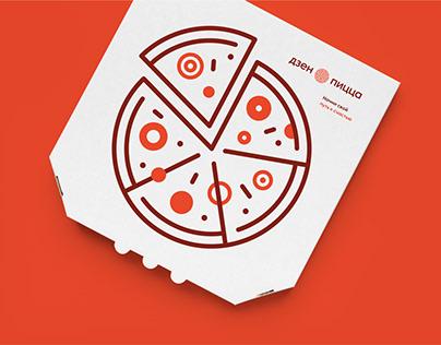 Zen pizza. Brand identity