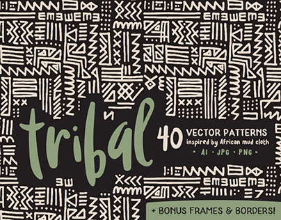 Tribal Pattern Collection By: Anugraha Design