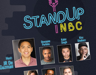 Stand Up NBC poster