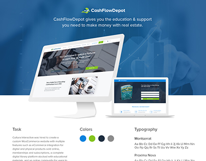 WooCommerce Membership Website for CashFlowDepot