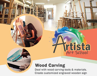 Artista - Art School flyer