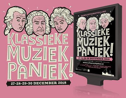 Family show 'Klassieke Muziekpaniek'