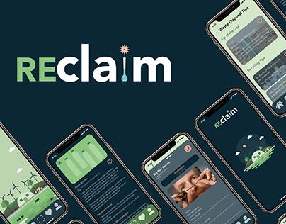 reclaim Application