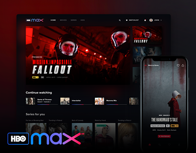 HBO Max - UX Research and Conceptual Design