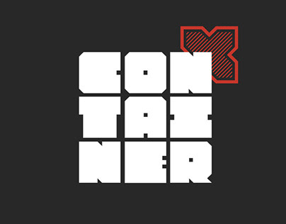 Container // Typeface