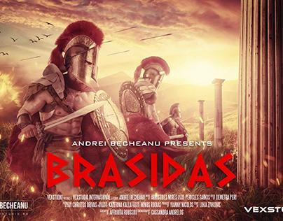 BRASIDAS SPARTAN History Movie Poster - Photoshop