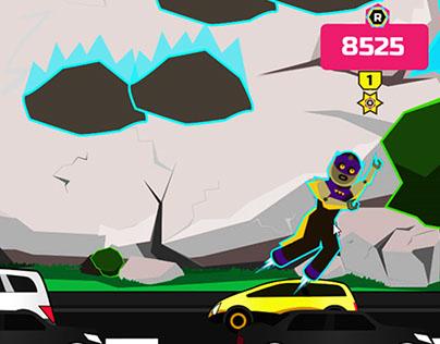 Kids HTML5 Game - RocFalls For Yolokoo.com