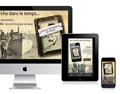 Circuit historique de Percé (Application mobile)