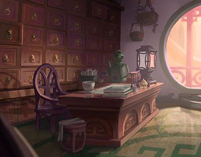 Jade Rabbit's Room