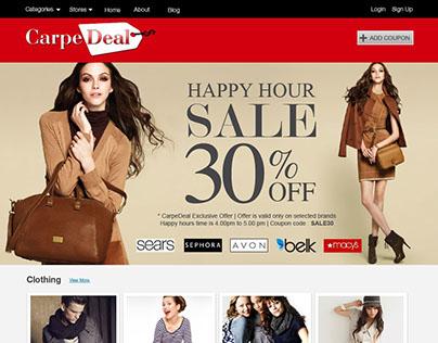 Website Templates - carpedeal.com