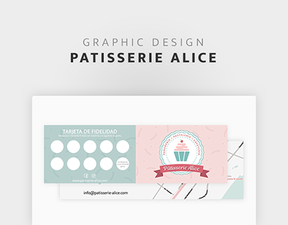 Pâtisserie Alice - Carte de visite