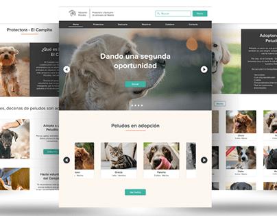 Salvando Peludos - Complete UX-UI Redesign