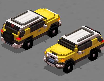 Voxel Cars