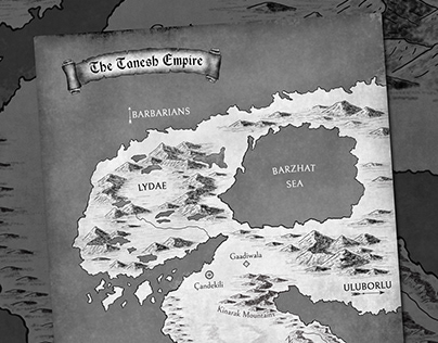 The Tanesh Empire Map