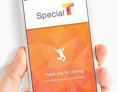 Special T - App Design