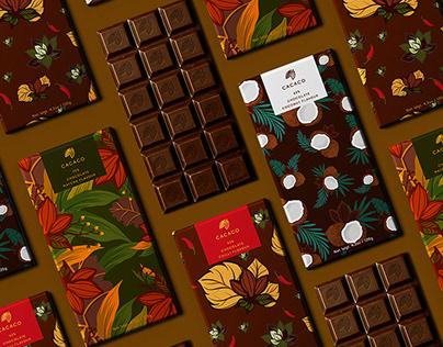 Chocolate Packaging Design collections