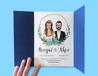 Wedding Invitation Birgül & Ilker