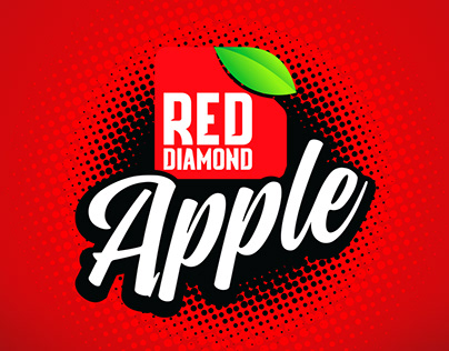 RED DIAMOND APPLE LOGO AND PACKAGING