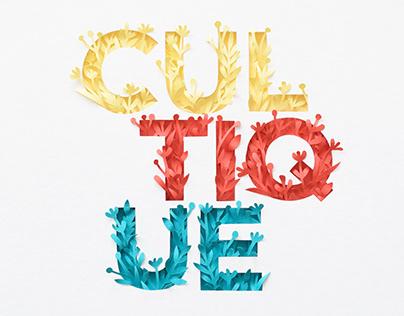 Cultique | paper art