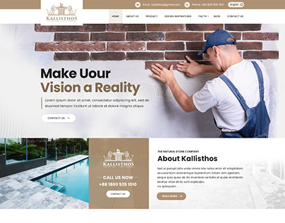 Website Design for Stone
