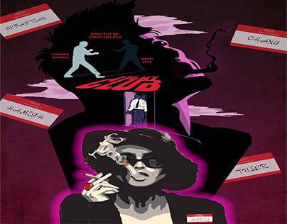 "Film illustration3""FIGHT CLUB"""
