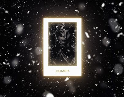 COMER. WINTER GLOW