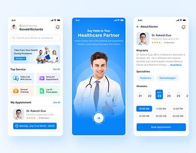 Medical & Doctor Mobile App