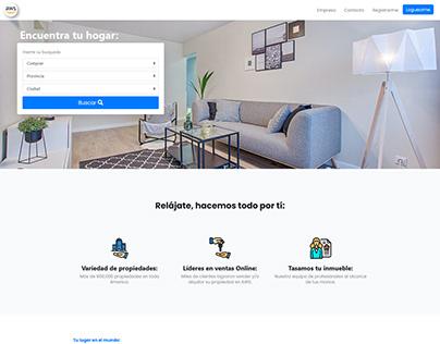 Fictional Real Estate Web UX Design