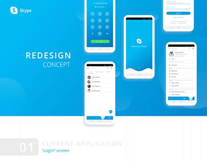 Skype Redesign Concept