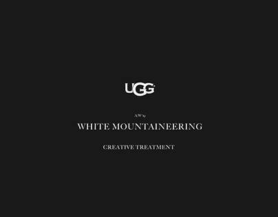 UGG X WHITE MOUNTAINEERING DIRECTION