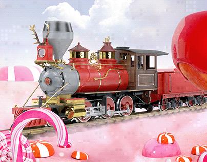 Tren Navidad Davivienda