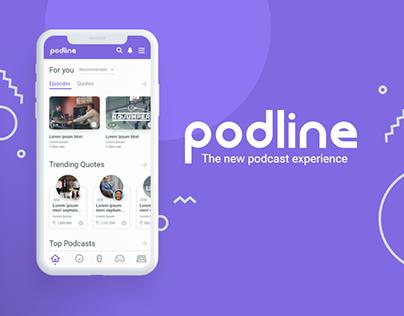 Podline (Podcast App)