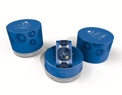Pixar x Citizen Watch Packaging