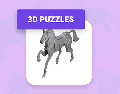 3D Puzzle Creation