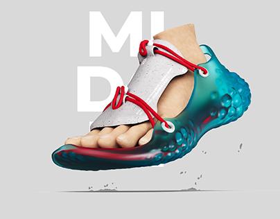 MIDORI - A Modular Sandal