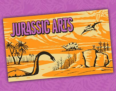 Jurassic Arts Note Card