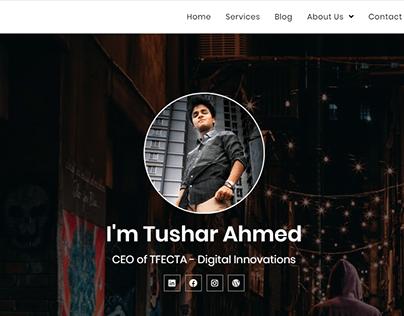 Portfolio / CV / Resume Design in WordPress