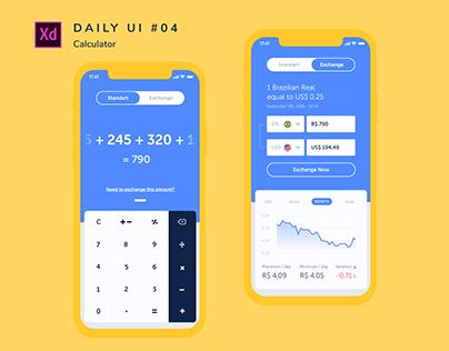 Daily Ui #004 _ Calculator