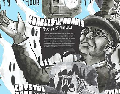 Berks County Spirit Tour Visual Essay Poster