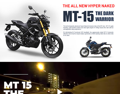WebPage for Yamaha Motor