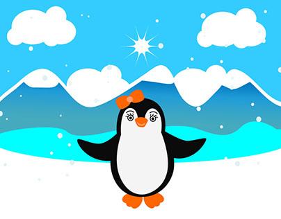 Polly de Pinguin gaat op reis