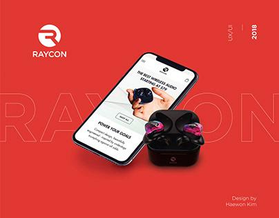 Raycon E-commerce UX/UI