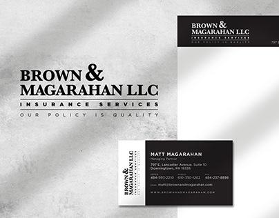 Brown & Magarahan Insurance   Corporate Identity