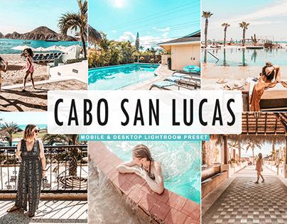 Free Cabo San Lucas Mobile & Desktop Lightroom Preset