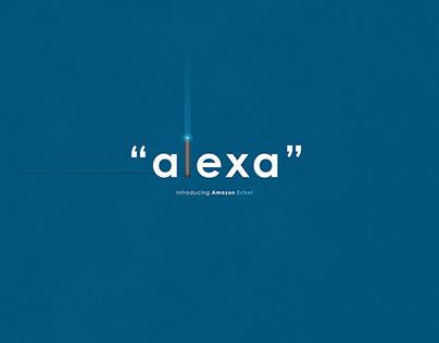Alexa| TypographicalPoster