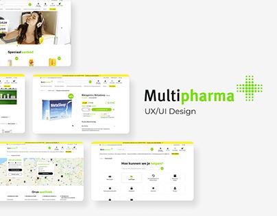 Multipharma: UX/UI E-commerce design