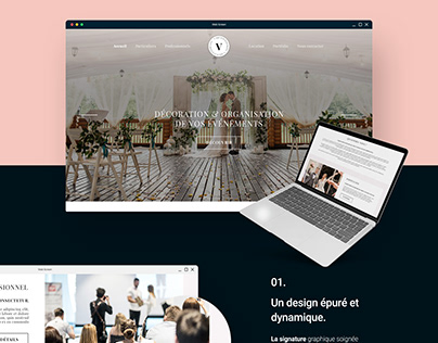 WEB DESIGN : V déco événement