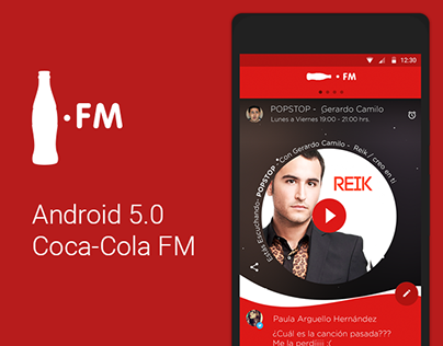 Coca-Cola FM Android 5.0