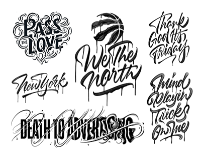 2019 Lettering Collection II